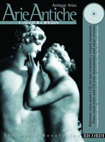 Various: Arie Antiche (Cantolopera)Voice And Piano: Book & Cd