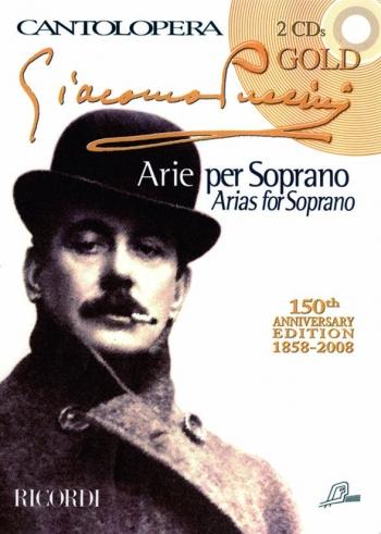 Cantolopera: Arias For Soprano: Cantolopera Gold Edition: Voice And Piano: Book & Cd
