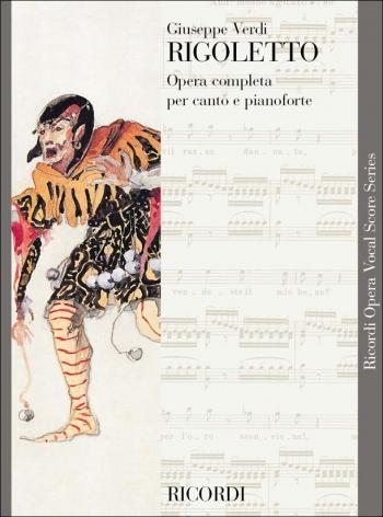 Rigoletto Opera Vocal Score (Ricordi)