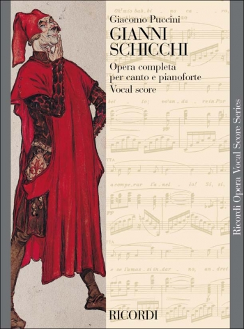 Gianni Schicchi (English & Italian Text) Opera Vocal Score (Ricordi)