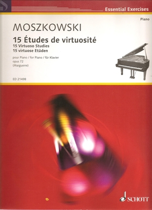 15 Virtuoso Studies: Op72: Piano (Schott)