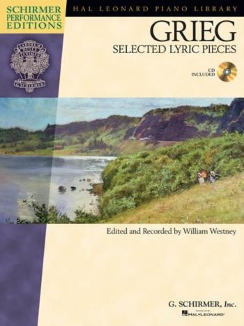 Lyric Pieces Selected Lyric Pieces: Piano Book & CD (Schirmer)