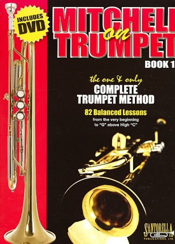 Mitchell On Trumpet: Book 1: Tutor: Bk & DVD
