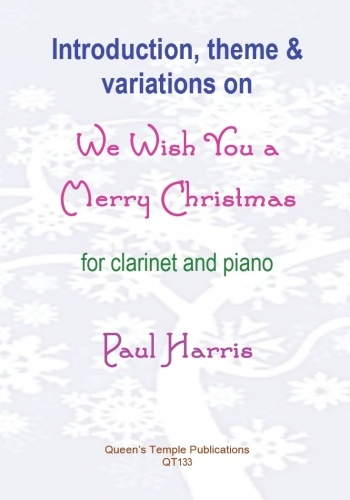 We Wish You A Merry Christmas: Clarinet & Piano