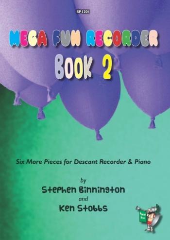 Mega Fun Recorder: Book 2: Descant Recorder & Piano