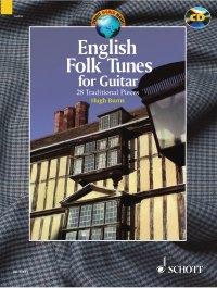 English Folk Tunes: 28 Traditional Pieces: Guitar: Bk&cd