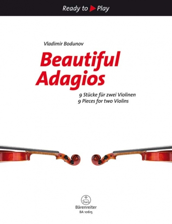 Ready To Play: Beautiful Adagios: For Two Violins