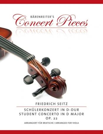 Concerto: D Major: Op22: Viola & Piano (Barenreiter)