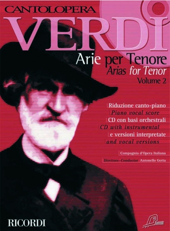 Cantolopera: Arias For Tenor Vol 2: Cantolopera Gold Edition: Voice And Piano: Book & Cd