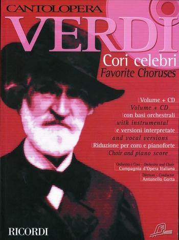 Cantolopera: Favoirte Choruses: Voice And Piano: Book & Cd