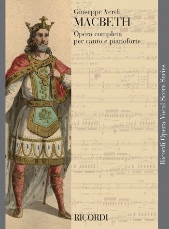 Macbeth Opera Vocal Score (Ricordi)