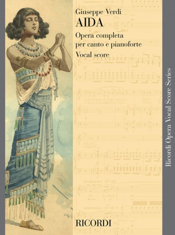 Aida: Opera Vocal Score (Ricordi)