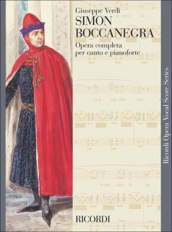 Simon Boccanegra: Opera Vocal Score (Ricordi)