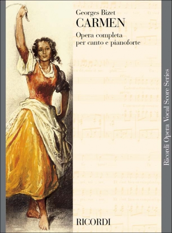 Carmen Opera Vocal Score (Ricordi)
