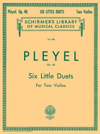 6 Duos: Op48: Violin: Duets: 2 Violins