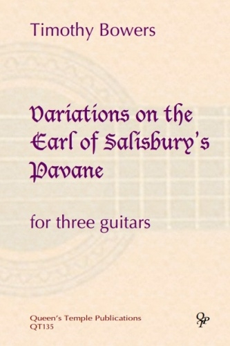 Variations On The Earl Of Salisburys Pavane: 3 Guitars