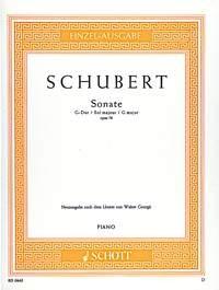 Sonata In G Major: Op.78: D894: Piano
