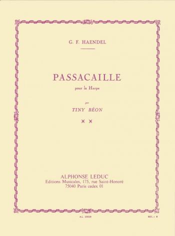 Passacaille: Harp Solo