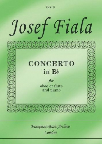 Concerto In Bb: Oboe Or Flute & Piano