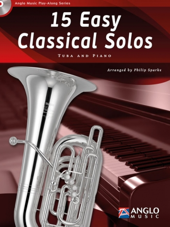 Play-Along Series15 Easy Classical Solos: Bb Or Eb Tuba & Piano: Book & Cd