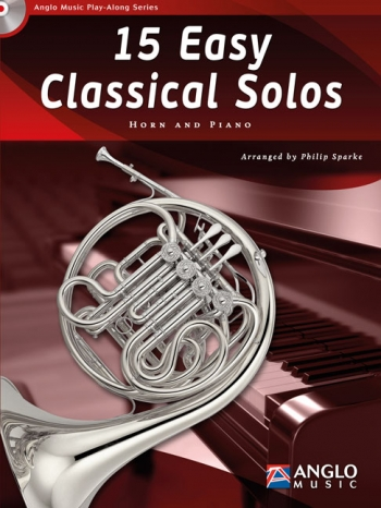 Play-Along Series15 Easy Classical Solos: French Horn Book & Cd