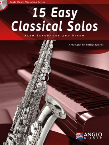 Play-Along Series15 Easy Classical Solos: Alto Saxophone Book & Cd
