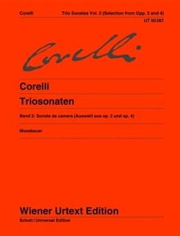 Trio Sonatas: Vol2: 2 Violins And Continuo  (Wiener Urtext)