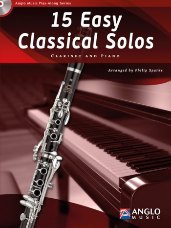 Play-Along Series15 Easy Classical Solos: Clarinet Book & Cd