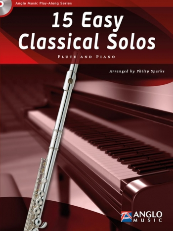 Play-Along Series15 Easy Classical Solos: Flute Book & Cd