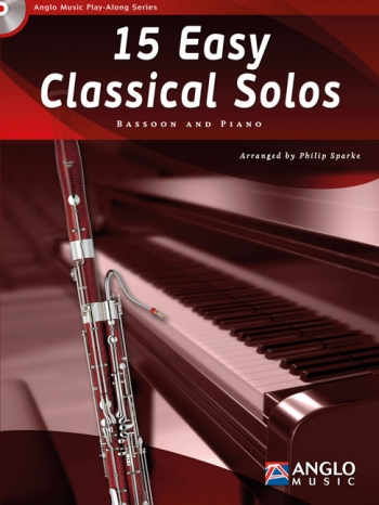 Play-Along Series15 Easy Classical Solos: Bassoon Book & Cd