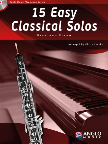 Play-Along Series15 Easy Classical Solos: Oboe Book & Cd