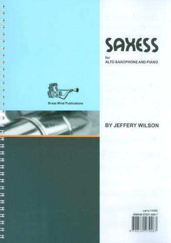 Saxess: Alto Saxophone & Piano