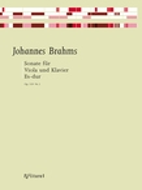 Sonata Eb Major Op.120/2: Viola & Piano (Partitura)