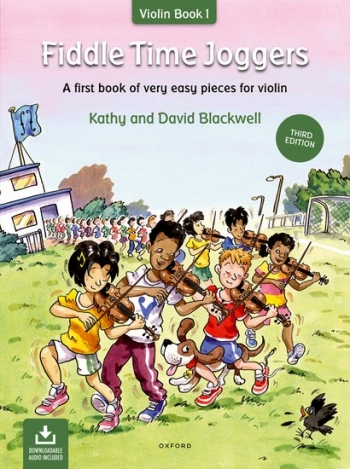 Fiddle Time Joggers Book 1 Violin Book & Cd (Blackwell)