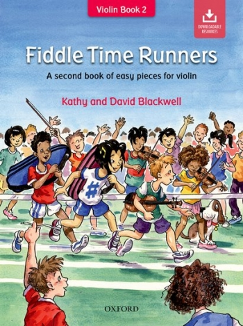 Fiddle Time Runners Book 2 Violin Book & Download (blackwell)