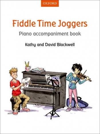 Fiddle Time Joggers Book 1 Piano Accompaniment Book (Blackwell)