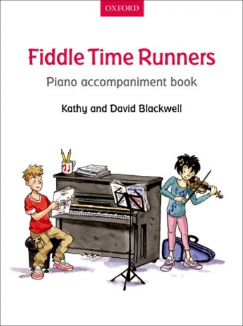 Fiddle Time Runners Book 2 Piano Accompaniment Book (Blackwell)