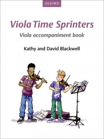 Viola Time Sprinters Book 3 Viola  Accompaniment Book (Blackwell)