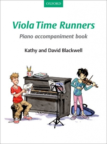 Viola Time Runners Book 2 Piano Accompaniment  Book (Blackwell)