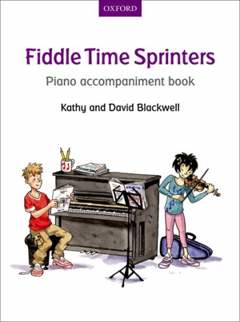 Fiddle Time Sprinters Book 3 Piano Accompaniment Book (Blackwell)