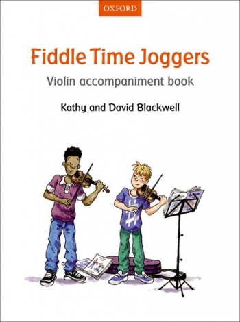 Fiddle Time Joggers Book 1 Violin Accompaniment Book (Blackwell)