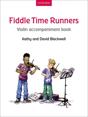 Fiddle Time Runners Book 2 Violin Accompaniment Book (Blackwell)