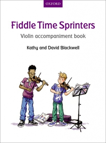 Fiddle Time Sprinters Book 3 Violin Accompaniment Book (Blackwell)