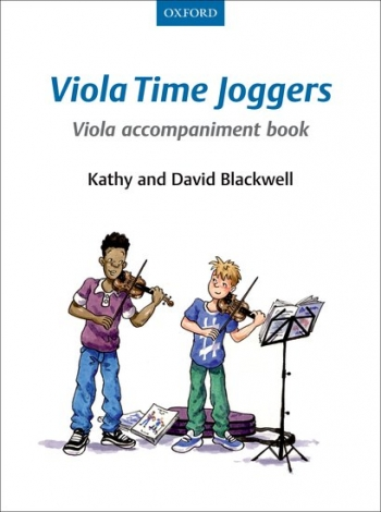 Viola Time Joggers Book 1 Viola Accompaniment  Book (Blackwell)