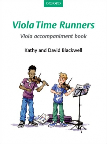 Viola Time Runners Book 2 Viola Accompaniment  Book (Blackwell)