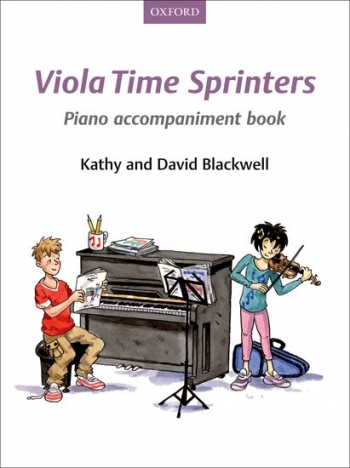 Viola Time Sprinters  Book 3 Piano Accompaniment Book (Blackwell)