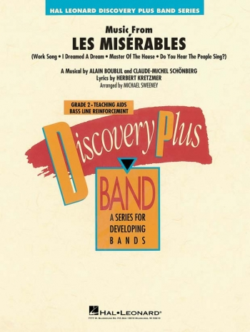 Discovery Plus: Les Miserables: Concert Band Score & Parts (Sweeney)