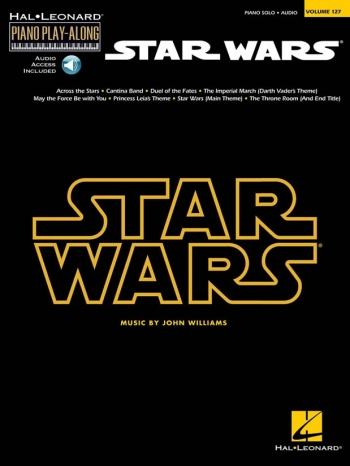 Piano Play-Along Volume 127: Star Wars: Book & Cd