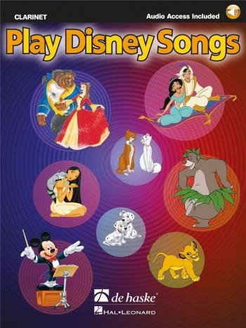 Play Disney Songs: Clarinet Book & Cd