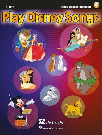 Play Disney Songs: Flute Book & Cd